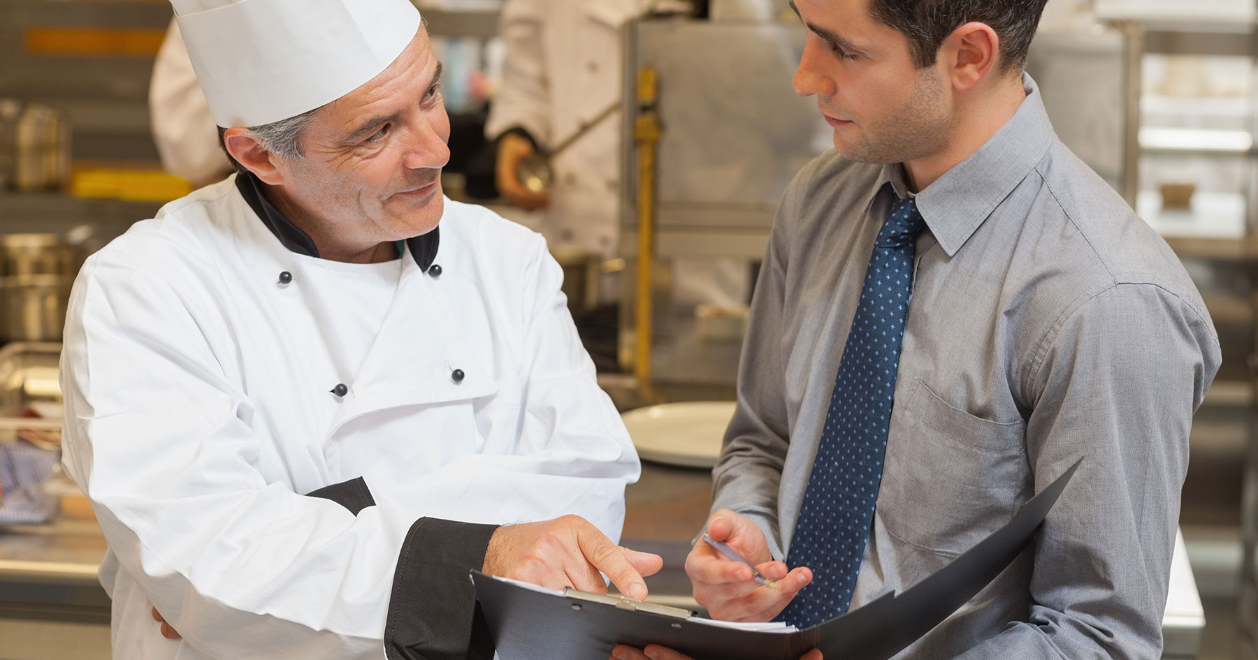 manager chef menu