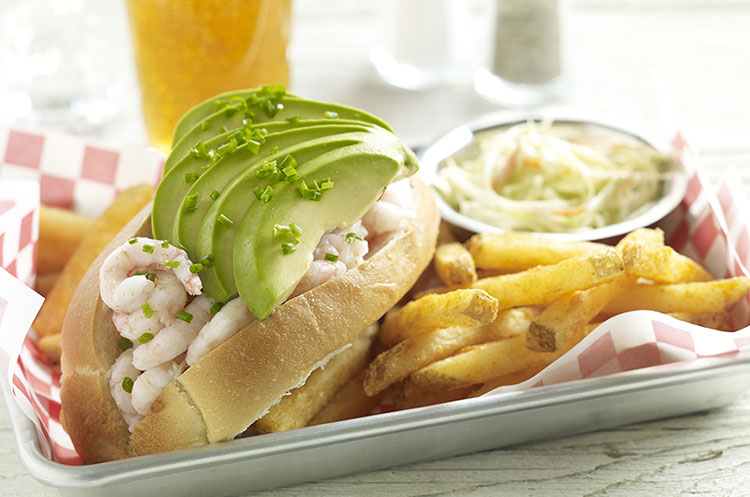 avocado shrimp roll