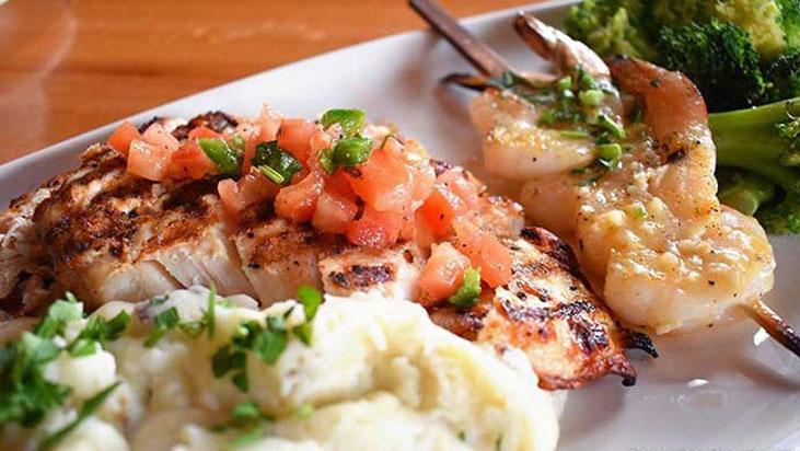 applebees chicken shrimp