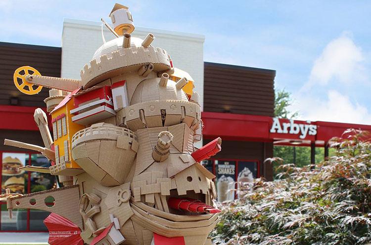 arbys sign monster