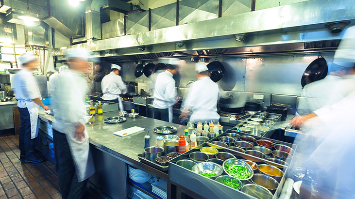 Busy Restaurant Kitchen 6 easy ways to boost sustainability