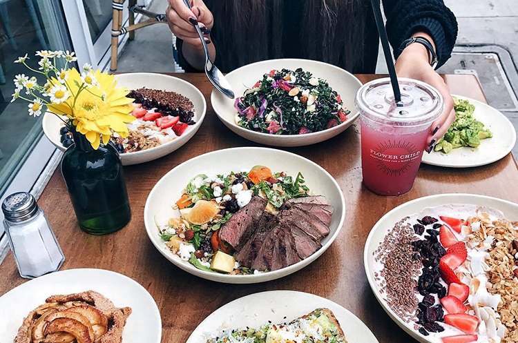 Better fast casual Flower Child food
