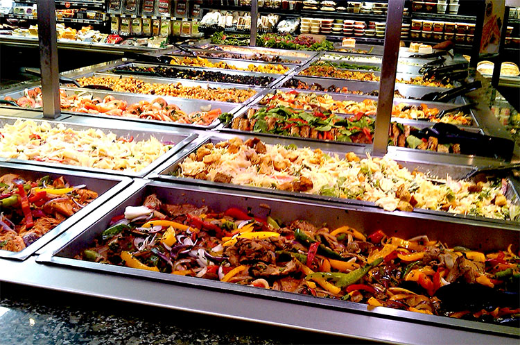 Dispatches from behind enemy lines whole foods latest for Hot food bar 3 divisions