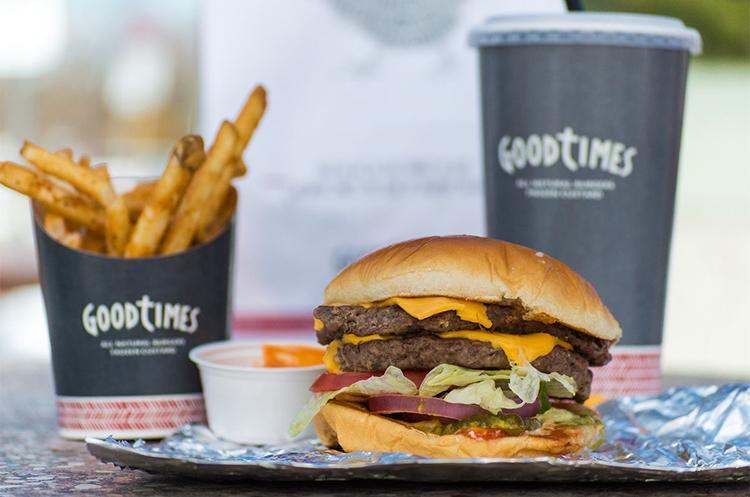 good times burger combo