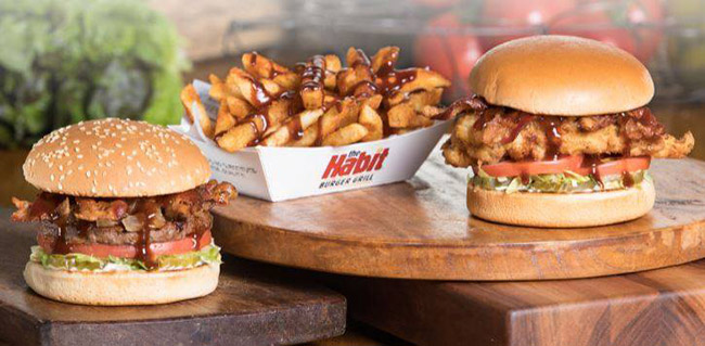 habit burger bourbon bacon
