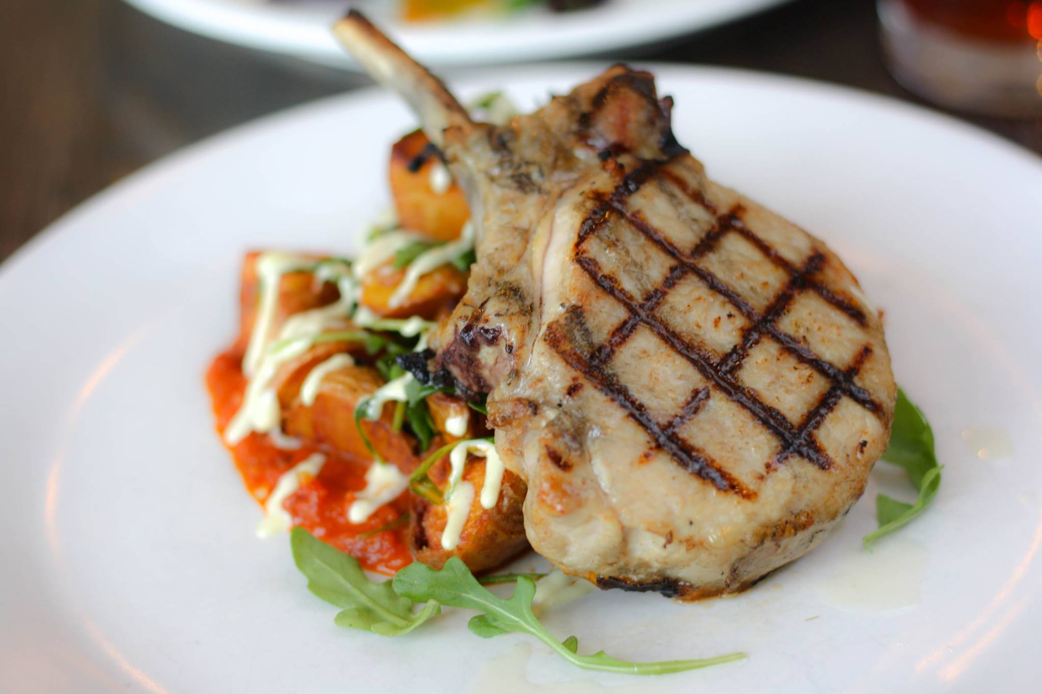 not your average joes pork chop