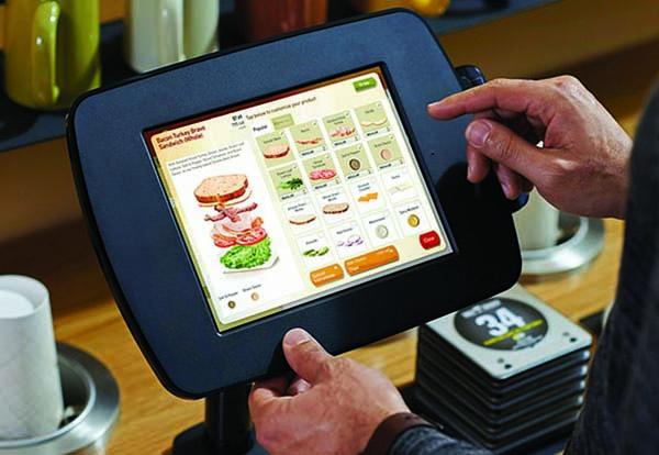 Panera FastLane Kiosk Bravo Sandwich