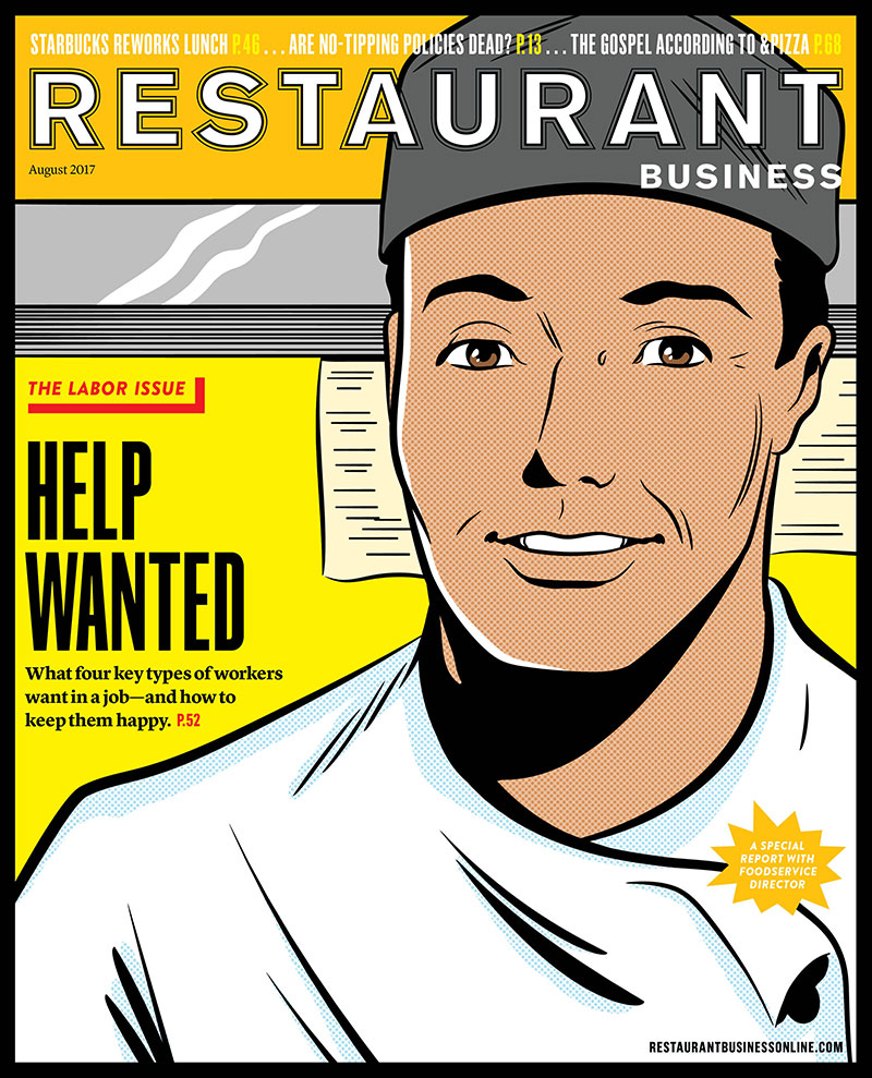 Restaurant Business Magazine August 2017 Issue