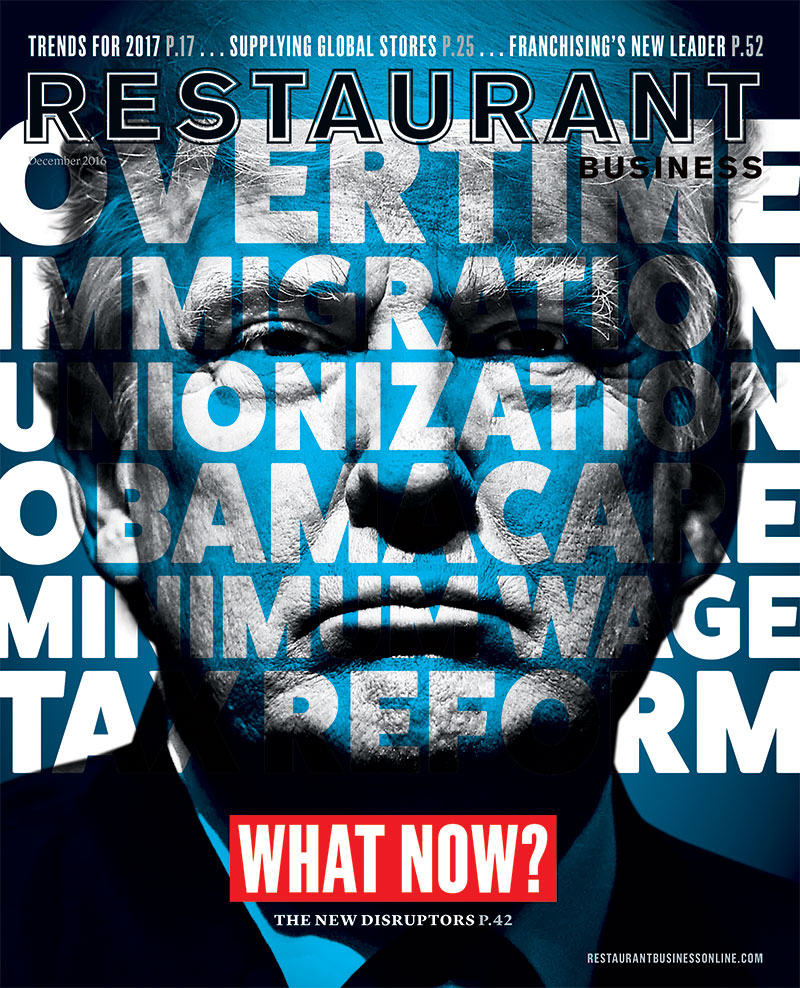 Restaurant Business Magazine December 2016 Issue