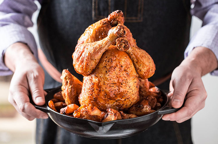 river roast whole chicken
