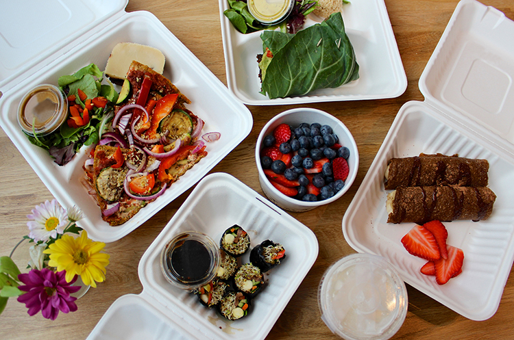 takeout food boxes to go