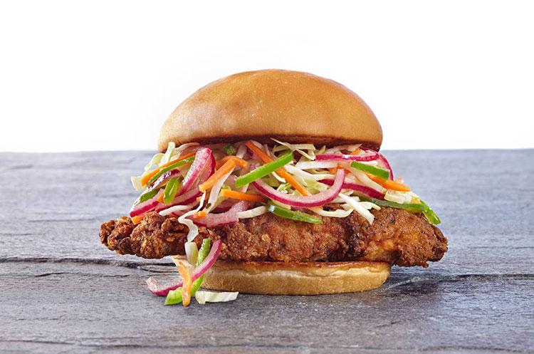 organic coup chicken sandwich