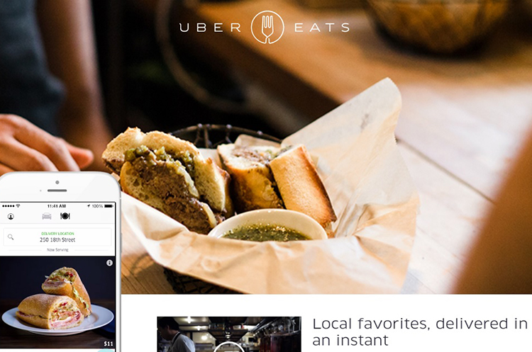 uber eats screenshot