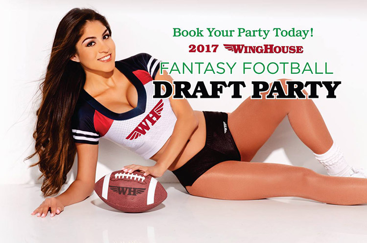 winghouse fantasy football draft party
